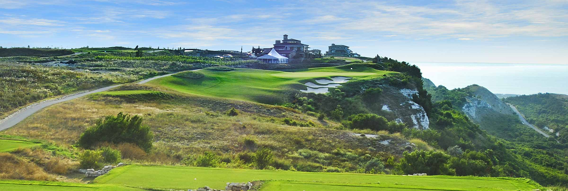 BlackSeaRama Golf & Villas 2018 - 7 nights, 5 green fees