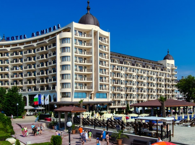 Golf in Bulgaria 2020 - Admiral hotel - Golden Sands, 7 nights and 4 games
