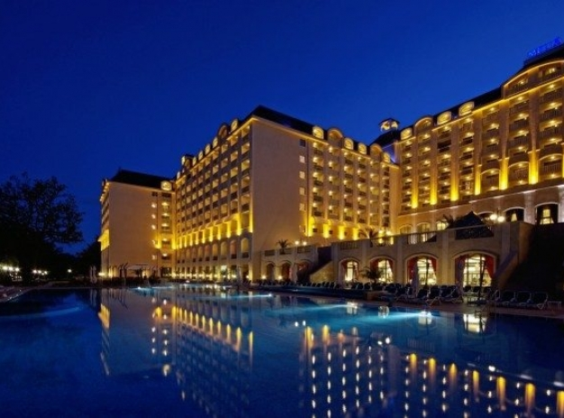 Golf in Bulgaria: Group of 8 special all incl. package with accommodation Melia Golden Sands 5*