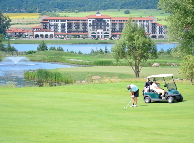 Golf break in Bulgaria 2019, stay downtown the Capital and play 2 games