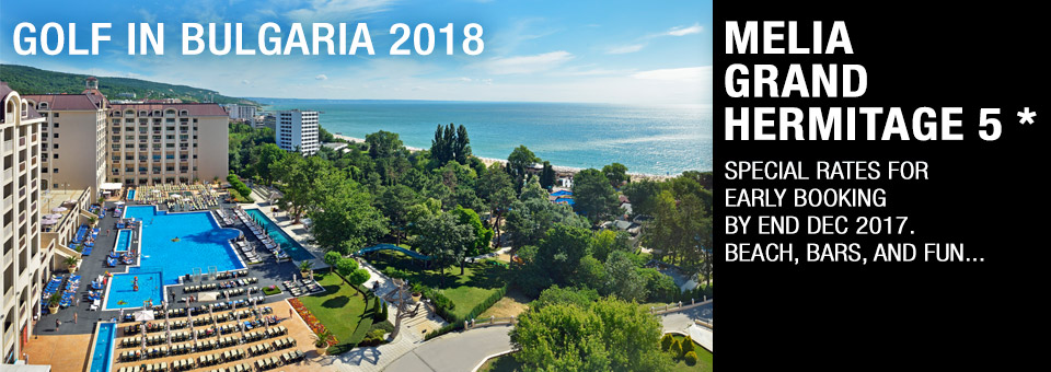 Melia Grand Hermitage 2018 - Early Booking